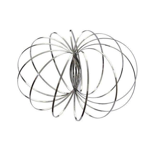 Fluxo de magia Brinquedo Anel Flowtoy Surpreendente Kinetic Primavera Dom Rolo De Brinquedo Engraçado Jogo Brinquedo Inteligente Crianças Antistress Spinner-30