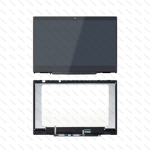 LCD Touch Screen Assembly With Bezel For HP x360 14-cd0111tu 14-cd0113tu 14-cd0114tu 14-cd0116tu 14-cd0125tu 14-cd0127tu