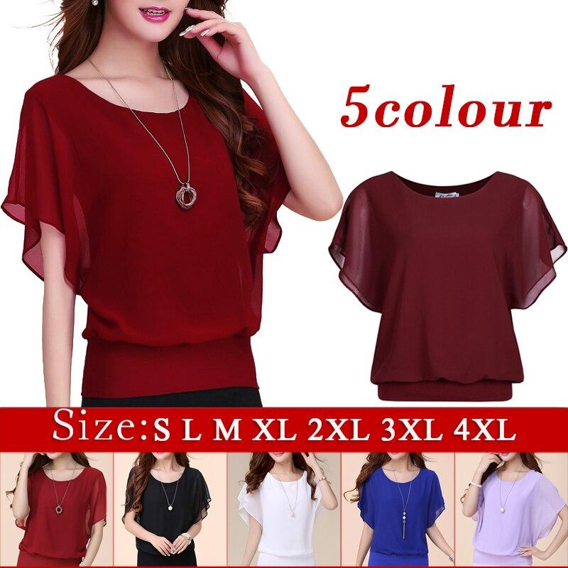 Женские блузки и Рубашки 4XL 5XL