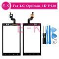 """Оригинал 4.3 """"Для LG Optimus 3D P920 Сенсорным Экраном Дигитайзер Датчик Стекло Объектива Панель Черный + инструменты Бесплатная доставка"""