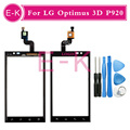 "Original 4.3"" For LG Optimus 3D P920 Touch Screen Digitizer Sensor Glass Lens Panel Black +tools Free shipping"