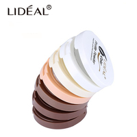 LIDEAL High Quality Face Powder Oil Control Whitening Pores Natural Pressed Powder Professional Face Makeup
