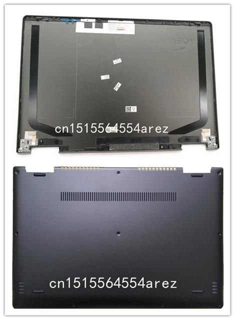 online retailer 2b7d5 e4538 US $36.86 5% OFF New Original laptop Lenovo Yoga 710 710 15ISK Lcd Rear  Back Cover/Bottom Base Cover case AM1JI000200 AM1JI000120-in Laptop Bags &  ...