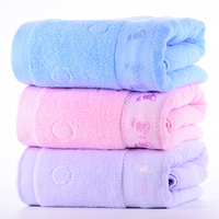 New Thick Luxury Cotton Bath Towels Towel 70x140cm Absorbent Butterfly Cartoon Cotton Beach Bath Towel For