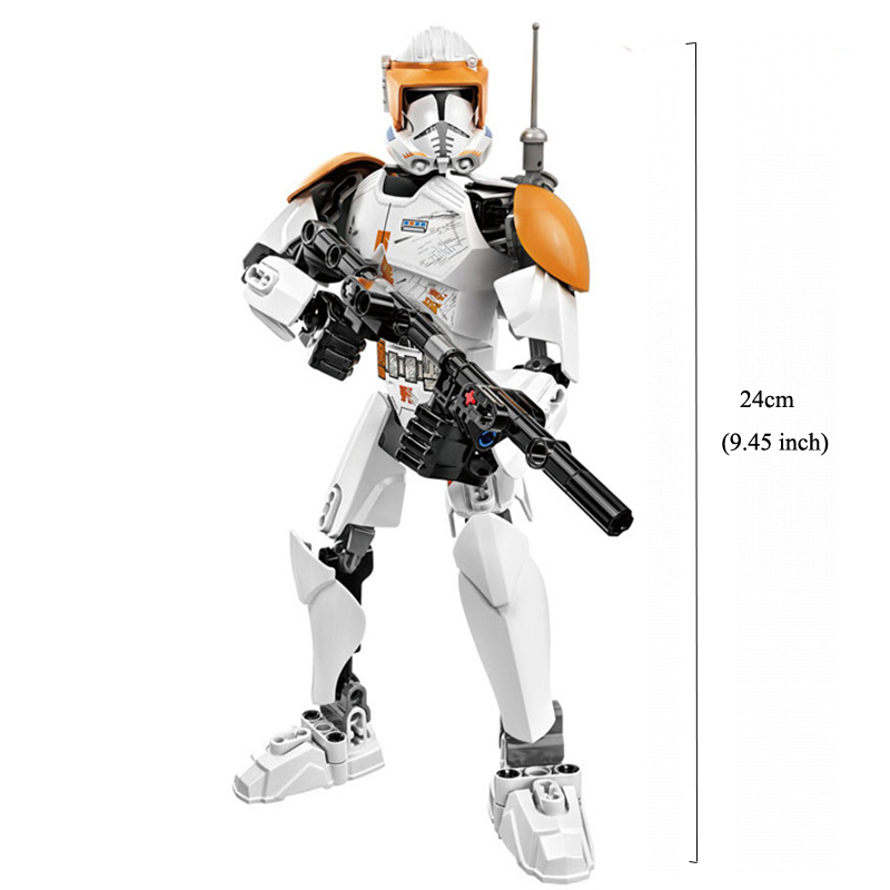 Blocks Star Wars Buildable Action Figure Toys for Kids 10