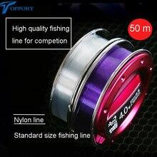 Toppory High Quality Nylon Fishing Line For Hera Herabuana Fishing Taiwan Fishing Main Line Hook Line 0.4# 0.6# 0.8# 1.0#-3.0#