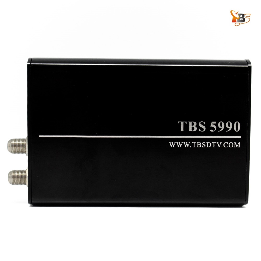 EU Warehouse Shipping!TBS5990 DVB-S2 USB Dual Tuner Dual CI TV Box for Watching and Recording Digital Satellite TV on PC new car dvb t2 digital tv box dual tuner mpeg2 and mpeg4 avc h 264