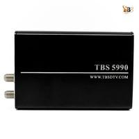EU Warehouse Shipping!TBS5990 DVB S2 USB Dual Tuner Dual CI TV Box for Watching and Recording Digital Satellite TV on PC