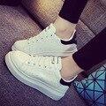 Mujeres de la marca Zapatos de la Señora Zapatos Casuales Versión Coreana De Zapatos de Tendencia de La Moda de Primavera Otoño Ocio Estudiante Solos Zapatos
