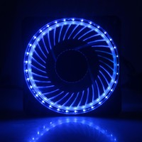 30PCS Gdstime Ruhig Computer Eclipse 120mm CPU Kühler 12V Blau LED Licht Fall Lüfter Mod-in Lüfter & Kühlung aus Computer und Büro bei