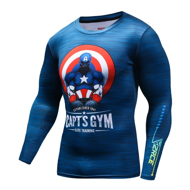Special Graphic Compression Shirts Rash Guard