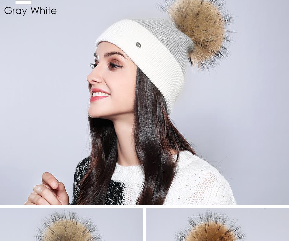 Winter Hat For Women MZ744 (14)