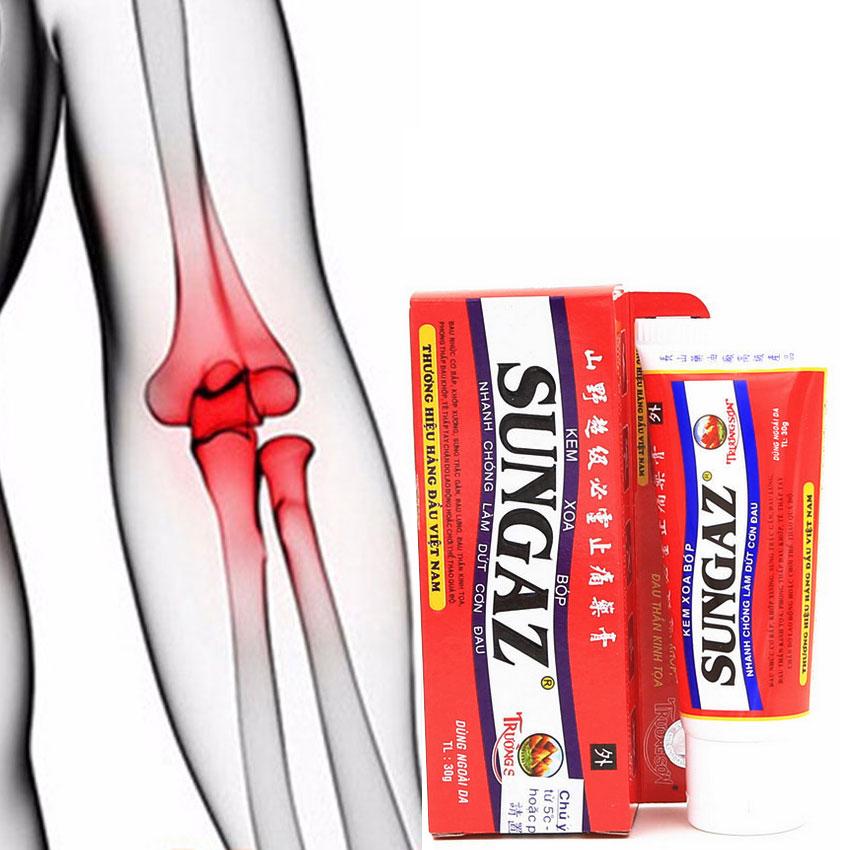 Vietnam Sungaz Massage Cream Analgesic Cream Suitable Rheumatoid Arthritis\joint Pain\back Pain Relief Analgesic Balm Ointment