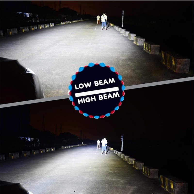 FLYCAR COB LED Headlight Bulbs Super Brightness Turbo LED H1 H4 H7 H11 H13 H27 HB1 HB3 HB4 HB5 9004 9005 9006 9007 Car Headlamp