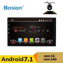 """Android 7.1 Auto lettore DVD 7 """"Universale 2 Din auto radio GPS di Navigazione fit nissan Qashqai Car audio radio supporto bluetooth SWC"""