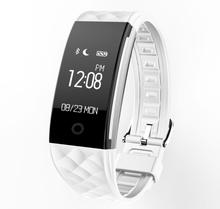 S2 Смарт-Band Сенсорный Экран Водонепроницаемый Фитнес-Трекер Спорт Браслет с Шагомер Sleep Monitor для Android iOS