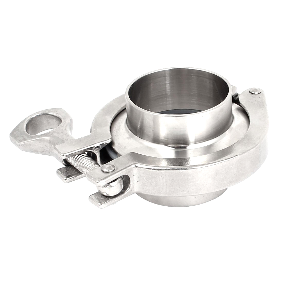 2 Inch Tri Clamp 45mm Pipe OD 304 Stainless Steel Sanitary Pipe Ferrules Gasket Set 64mm Ferrule OD For Homebrew Diary Product