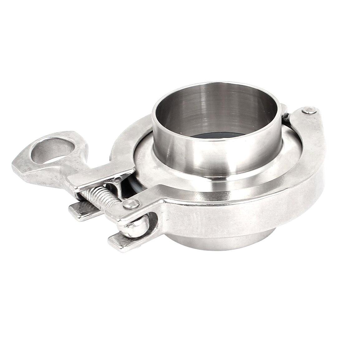 2 polegada tri braçadeira 45mm tubulação od 304 de aço inoxidável virolas de tubulação sanitária conjunto de gaxeta virola de 64mm od para o produto diário homebrew