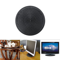 12 Inch Heavy Duty 360 Degree Rotating Swivel Stand For Monitor TV Turntable Lazy Susans Black