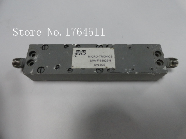 [BELLA] MICRO-TRONICS SPA-F-63029-8 2-6GHZ RF Bandpass Filter SMA (F-F)