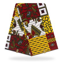 New design Black African dress clothing,african wax cotton fabric vitenge for making 6 yard whole YBGHL-120