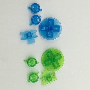 Image 4 - 10 conjuntos de Multi Cor Botões para Gameboy Clássico GB Teclados para GBO DMG DIY para Gameboy Ab botões D pad