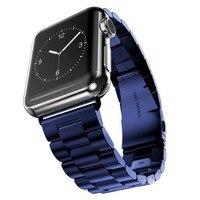 用アップル時計ケース+バンドストラップシリーズ3 1 2 38ミリメートル42ミリメートル金属ミラノステンレス鋼ローズゴールドシルバーブラック用iwatch守る
