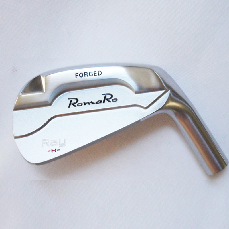New Mens Golf Heads RomaRo Ray H Golf Irons Set 4-9P Irons Heads Right Handed Clubs Set No Golf Shaft Free Shipping