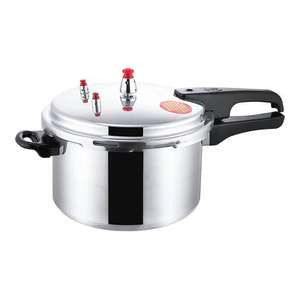Pressure Cooker Kitchen Household 3L Beans Utensils Vegetables Soups Meats Aluminum Alloy