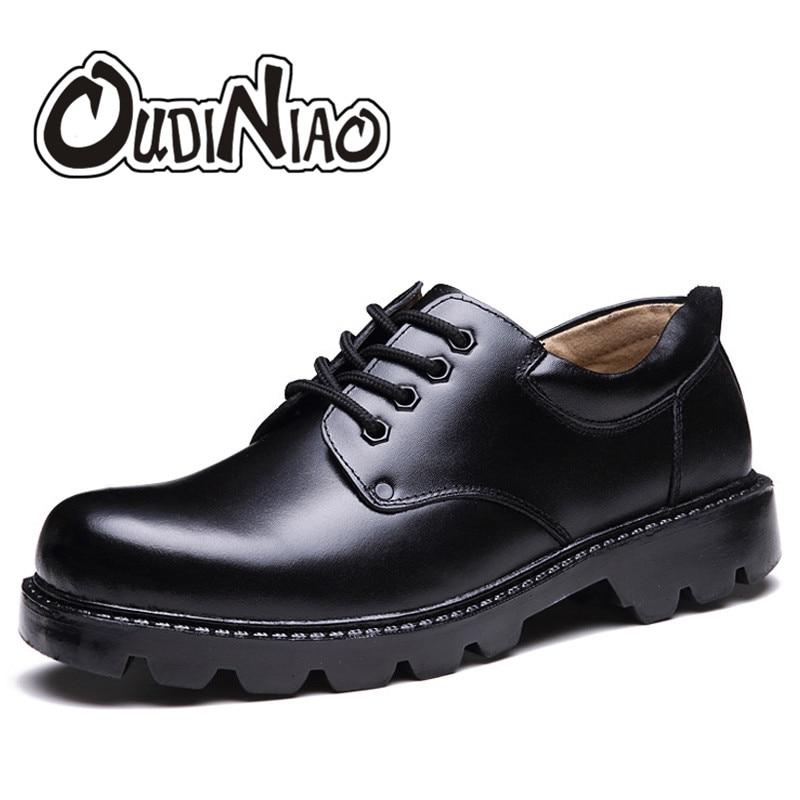Hommes chaussures grandes tailles décontracté britannique en cuir véritable hommes chaussures officier vache chaussures hommes hiver chaud fourrure en peluche noir