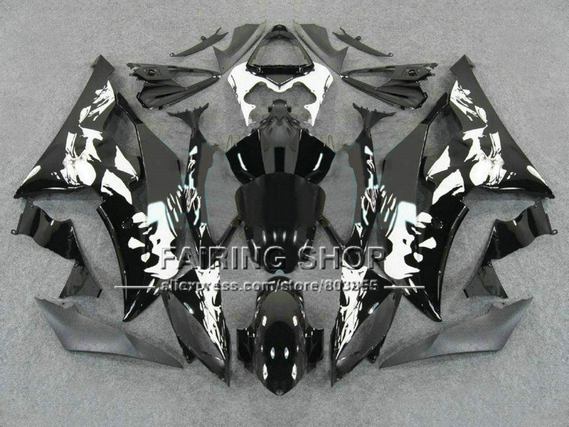 Плоская черная литьевая форма на заказ Обтекатели для YAMAHA 2008 2009 2011 2013 YZF R6 кузов YZF R6 08 13 aftermarket YZF1000 R6 - 2