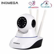 Inqmega 1080 720p クラウドワイヤレス ip カメラ自動追尾屋内ホームセキュリティ監視カメラの wifi cctv ネットワークカムベビーモニター