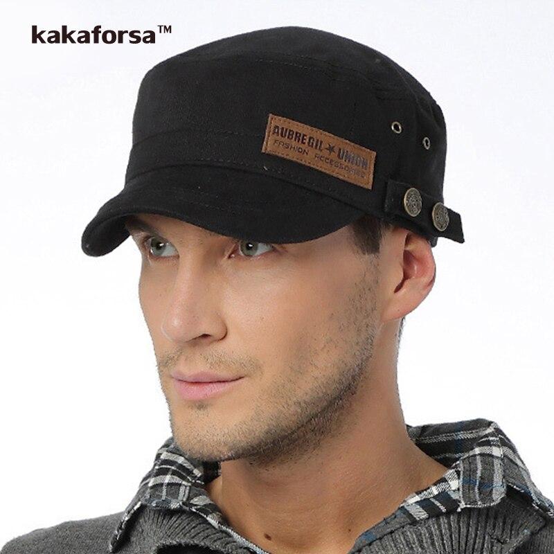Prix pour Nouveau Hommes Coton Chapeau D'hiver de Haute Qualité Tout-Allumette Solide Baseball Caps pour les Femmes Marque Patch Snapback Réglable Cap gorras plana