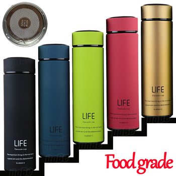 Insulate Thermos tea mug with Strainer Thermo mug Thermos Coffee cup Stainles steel thermal bottle Termos Thermocup Vacuum flask