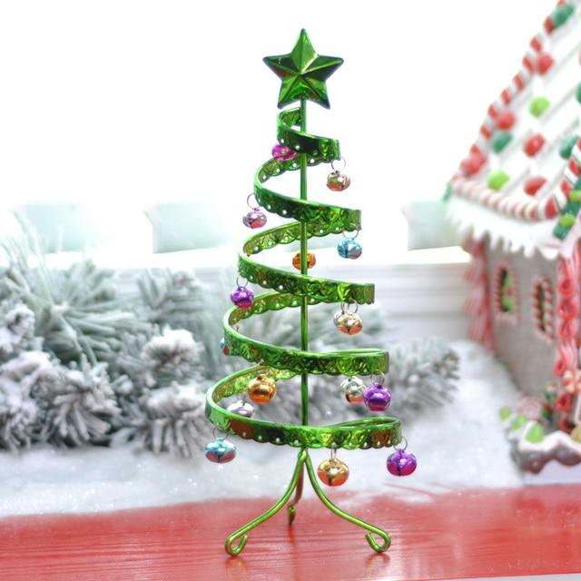 nuevo cm navidad decoracin hogar mesa de los rboles de oro adornos hierro navidad