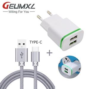 GEUMXL 2-Port USB EU Plug AC H