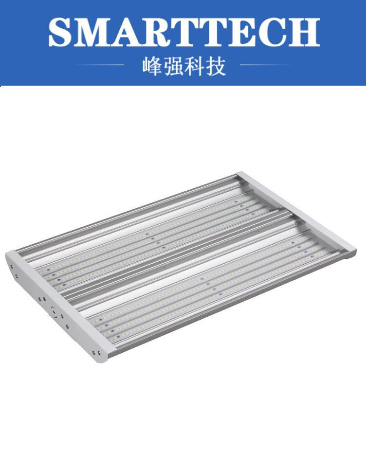 Custom Large Size ABS plastic LED linear high bay mold maker plastic led light cover mold makers