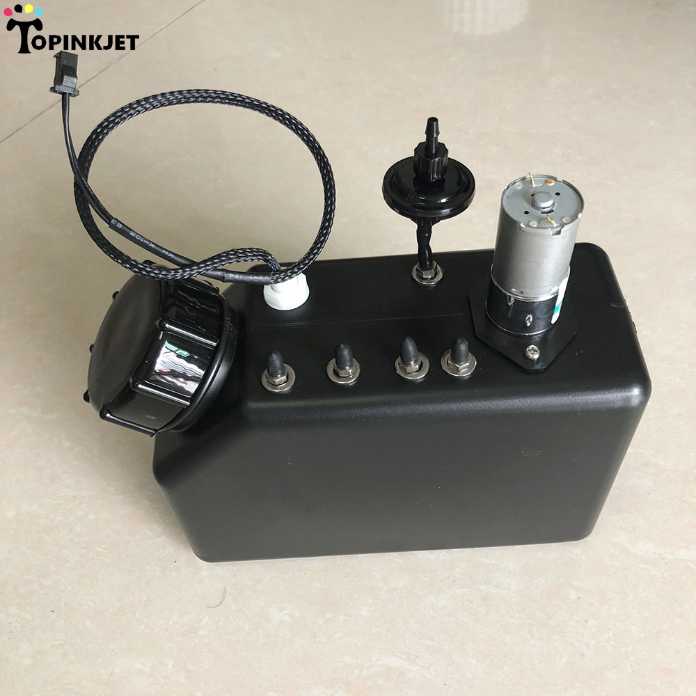 UV printer UV ciss ink tank with liquid level ink pump and ink filter