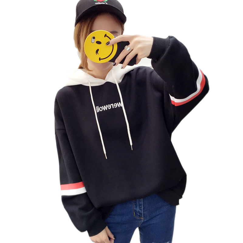 681b6f754c9 Autumn Winter Fashion Kpop Women Sweatshirts Casual Streetwear Harajuku  Hoody Long Sleeve Letter Print Hoodies Pullovers. US  10.99. (17)