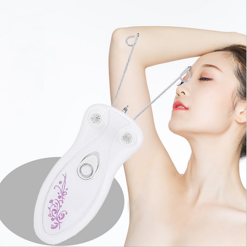 Best Selling Hair Removal Tools For Ladies Electric Plucking Body Whole Body Uprooted Hair Removal Device Face Cotton Face Pulle in Nose Ear Trimmer from Beauty Health