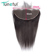 13x6 Lace Frontal Closure Straight Pre Plucked With Baby Hair 100% Malaysian Remy Human Hair FedEx/DHL Express Free Shipping(China)