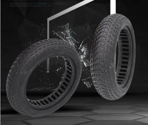 8.5 inch tyre M365 electric scooter tire Vacuum solid tyre Avoid pneumatic tyre Upgraded version Hollow solid tyre