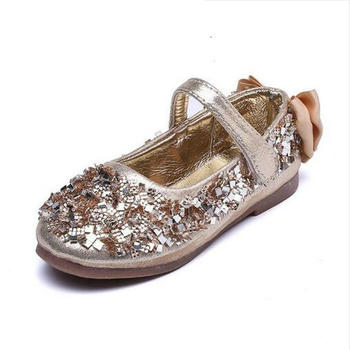 Purpurina Moda Zapatos Princesa Niñas Lentejuelas Fiesta Ztrwtq