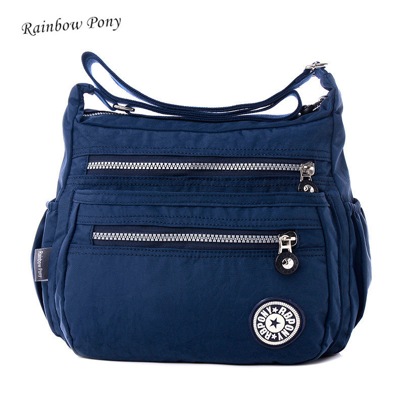 Rainbow Pony 2017 New Women nylon Bags for Women shoulder Bag woman handbag Multilayer Bags waterproof nylon bag Bolsos sac LV06