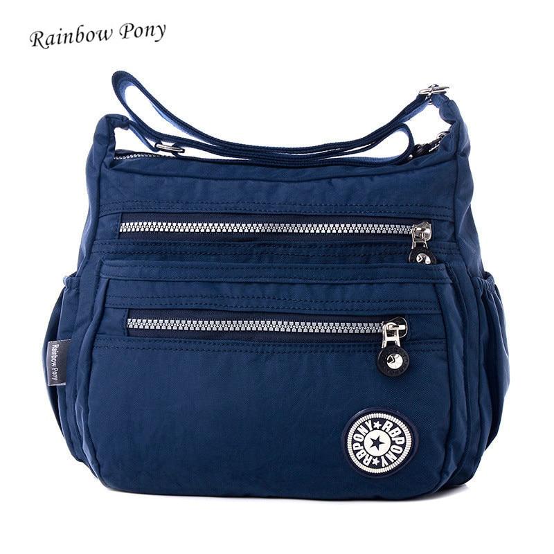 Rainbow Pony 2017 hot sale Fashion Women Shoulder Bag Casual Nylon Bag Shoulder