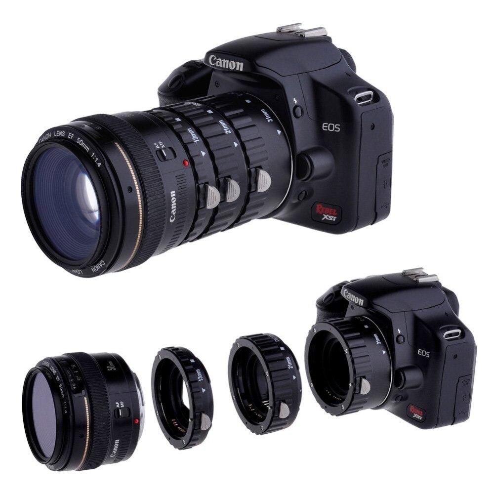 Meike Autofocus AF D'extension Macro Anneau de Tube pour Canon EOS 1300D 800D 760D 750D 700D 650D 200D 77D 80D 60D 5Ds 7D 6D Caméra len - 2