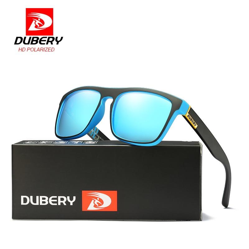 e4a3b3c21a7 DUBERY Polarized Sunglasses Men s Driving Shades Male Sun Glasses For Men  zonnebril mannen Eyeglasses Sunglasses Oculos