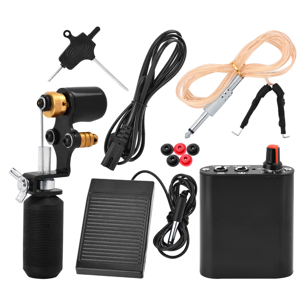 New Arrival! ATOMUS Tattoo Machine Shader & Liner Assorted Tattoo Motor Gun Kit Set High Quality for Permanent Tattoo Body Art 2pcs high quality new arrival copier spare parts driver board for minolta di 220 photocopy machine part di220