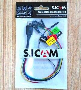 Image 2 - חדש מקורי SJCAM sj8/SJ9 Max strike FPV PWM RC Drone כבל עבור אווירי FPV עבור SJCAM SJ8 פרו /בתוספת/אוויר פעולה מצלמה אבזרים