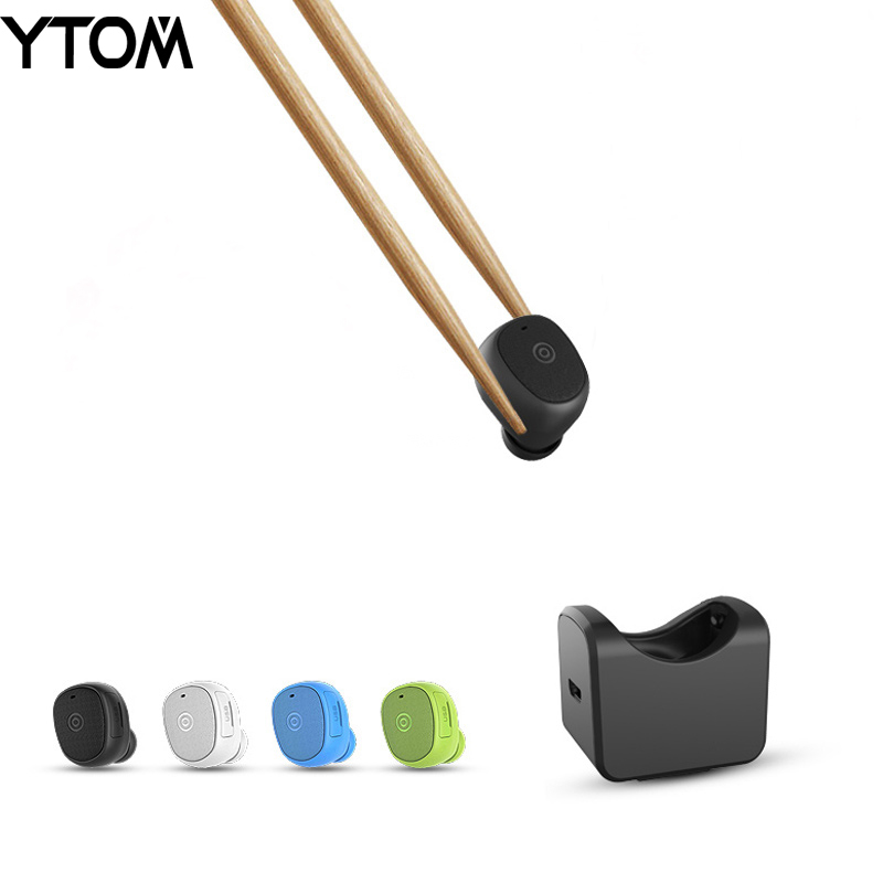 YTOM C1 Mini Bluetooth headset with charging socket car calls earphone earbuds with clear mic for apple xiaomi huawei smartphone q2 mini bluetooth headset stereo wireless earphone headphones music car driver headset stealth earbuds mic with charging socket